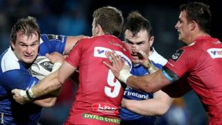 Leinster a Scarlets