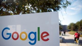 Google sign in Menlo Park, Calif.