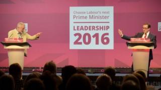 Jeremy Corbyn ve Owen Smith