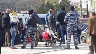 Крим, затримання