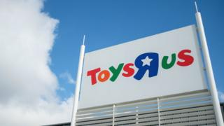 Toys R Us store in Luton