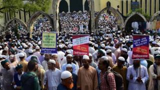 বায়তুল মোকাররম মসজিদে ভাস্কর্য-বিরোধী সমাবেশ