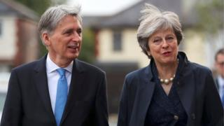 Philip Hammond and Theresa May