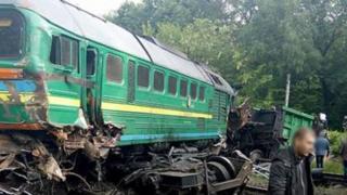 аварія потягів