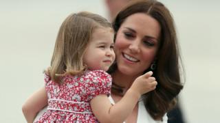 Кейт с дочерью Шарлоттой