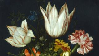 Ambrosius Bosschaert painting from the early 17th century