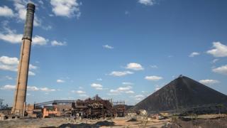 La mine abandonnée de Geca à Lumumbashi