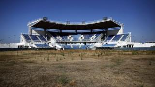 Олимпийский стадион в Афинах в 2012 году
