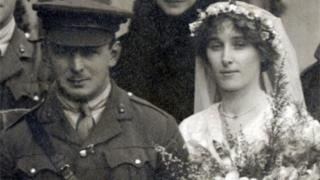 Fred Dargie and his wife Doris