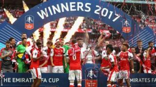 Umugwi Arsenal niwo wegukanye igikombe ca FA mu mwaka 2016-17