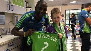 Djimi Traore and Charlie Fearns
