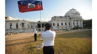 Il est installé dans des locaux temporaires situés dans la cours de l'ancien bâtiment de la présidence.