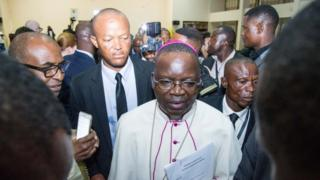 President of the National Episcopal Conference of Congo, Archbishop Marcel Utembi, 30 Dec 2016