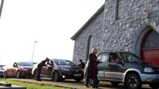 The Galway church's modern approach is designed to appeal to those who do not have time to attend a Mass service