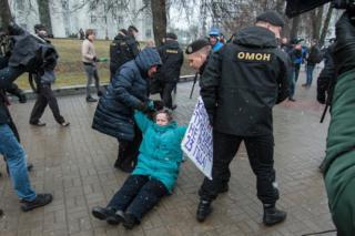 Білорусь протест