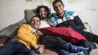 Alejandro Rodriguez, Manuel Bermudez ve Victor Hugo Prada