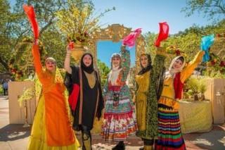 بزرگترین جشن نوروزی ایرانیان در دانشگاه لس آنجلس