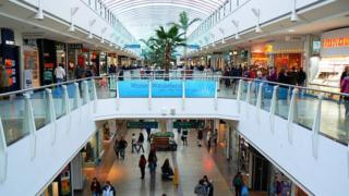 Inside the Mall at Cribbs