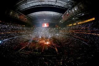 Super Bowl finalinin oynandığı NRG Stadyumu