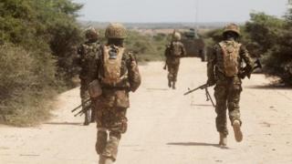 Abasirikare ba Kenya bari muri Somalia kuva 2011