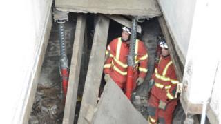 Perth floor collapse