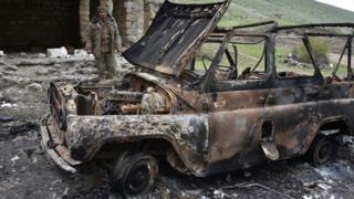 2016 april Karabakh fighting