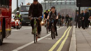 London, sepeda,