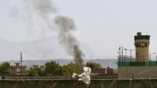 Extremist attacks on Kabul Airport