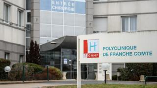 The Franche-Comte clinic in in Besancon where an anaesthetist is suspected of poisoning some of his patients between 2008 to 2017