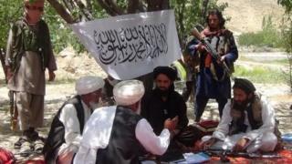 گروه طالبان در ولایت پکتیا