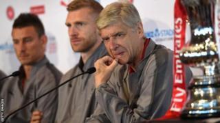 Arsene Wenger kulia