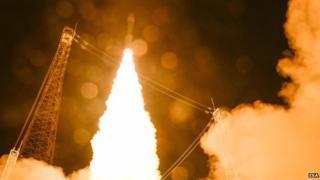 Sentinel-2a satellite