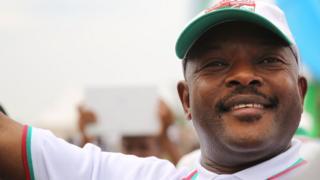 Umukuru w'u Burundi, Pierre Nkurunziza