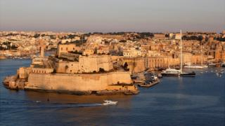 Valletta harbour, 2012 file pic