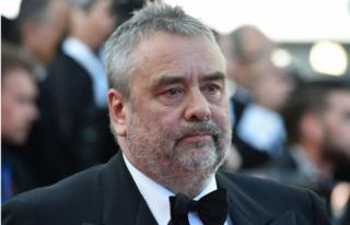 French director Luc Besson pictured in black tie at Cannes Film Festival in 2016
