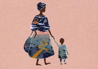 Illustration showing