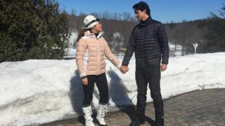 Sophie Gregoire Trudeau and Justin Trudeau