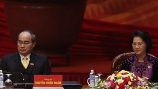 Hai Ủy viên Bộ Chính trị: Nguyễn Thiện Nhân và Nguyễn Kim Ngân