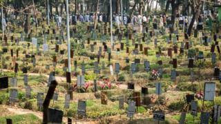 Azimpur cemetery, Dhaka