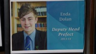 Enda Dolan died when he was knocked down on the Malone Road in Belfast
