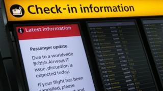 За компенсацию раходов, British Airways советует пассажирам обратиться к страховым компаниям
