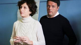 Маттео Ренци с супругой Аньезе
