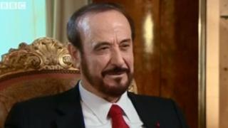 Rifaat al-Assad from a BBC interview in April 2012