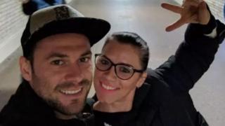 آندریا کریستیا به همراه دوست پسر خود برای تعطیلات به لندن آمده بود