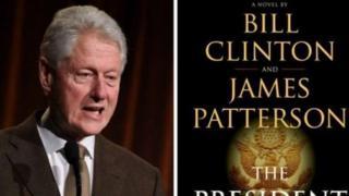 غلاف رواية الرئيس السابق للولايات المتحدة بيل كلينتون