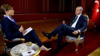 Cumhurbaşkanı Erdoğan'ın CNN'e verdiği röportaj