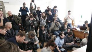 Журналисты в суде