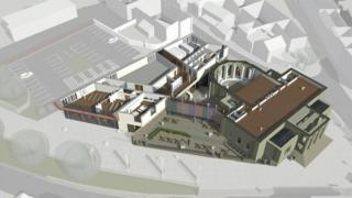 Plans for the hub will look