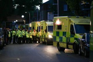 Ambulancias.