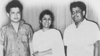 लता मंगेकर के साथ लक्ष्मीकांत-प्यारेलाल